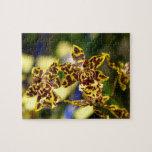 Flores de la orquídea rompecabezas
