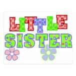 Flores de la pequeña hermana postal