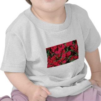 Flores de la petunia del jardín (petunia Hybrida) Camisetas