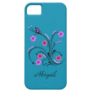 Flores de la petunia funda para iPhone SE/5/5s