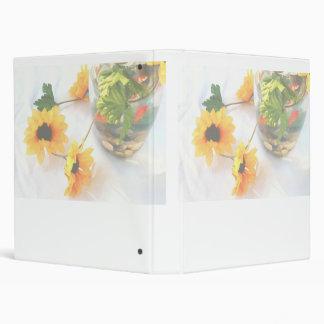 Flores de la pieza central del boda del Goldfish,