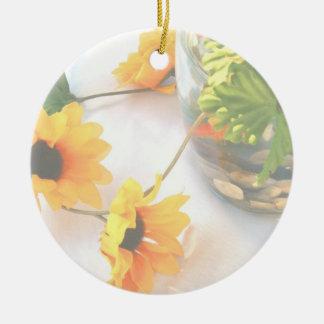 Flores de la pieza central del boda del Goldfish,  Ornamentos De Reyes Magos