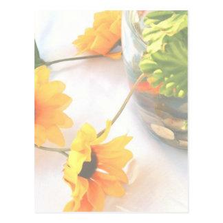 Flores de la pieza central del boda del Goldfish,  Tarjetas Postales