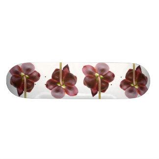 Flores de la planta de jarra monopatin personalizado