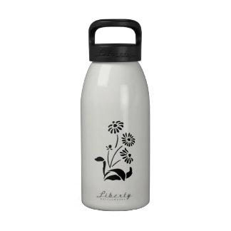 Flores de la primavera botella de agua reutilizable