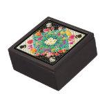 Flores de la primavera cajas de recuerdo de calidad