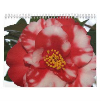 Flores de la primavera calendario
