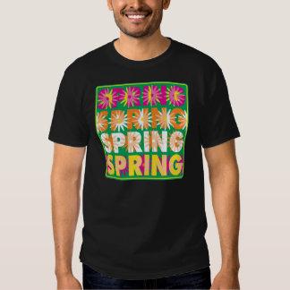 Flores de la primavera camisas