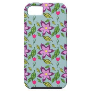 Flores de la primavera, caso iPhone 5 carcasa