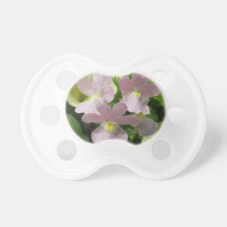 Flores de la primavera chupete de bebe