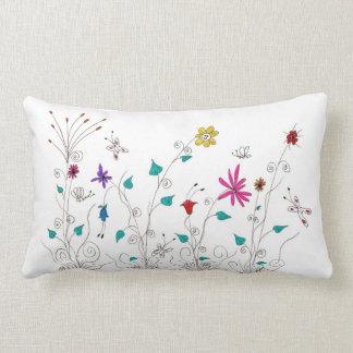 Flores de la primavera almohada
