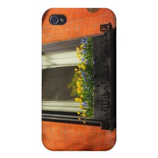Flores de la primavera, cuadrado de Stuyvesant, Ne iPhone 4 Cobertura