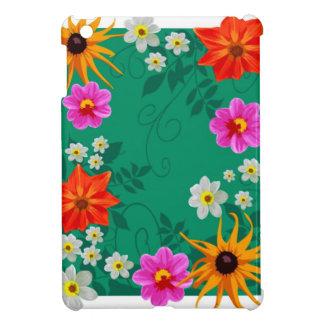 Flores de la primavera del vintage iPad mini carcasa