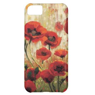 Flores de la primavera en un jardín funda para iPhone 5C