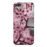 Flores de la primavera, flores de cerezo, caso del iPhone 5 carcasas