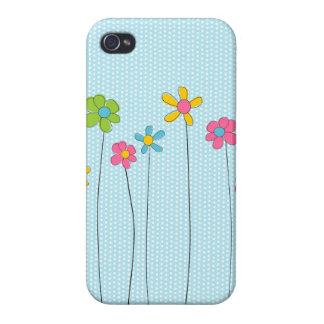 Flores de la primavera iPhone 4/4S carcasa