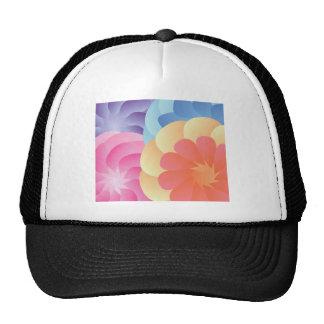 Flores de la primavera gorras