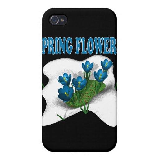 Flores de la primavera iPhone 4 protectores
