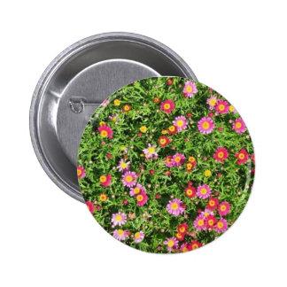 Flores de la primavera pin redondo 5 cm