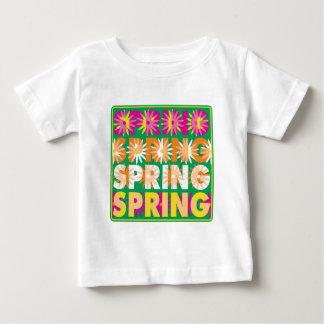 Flores de la primavera poleras