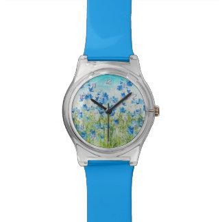 Flores de la primavera relojes