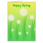 Flores de la primavera - tarjeta