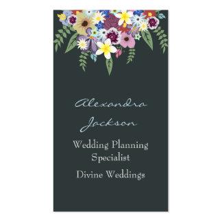Flores de la primavera, tarjetas de visita