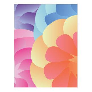 Flores de la primavera tarjeta postal