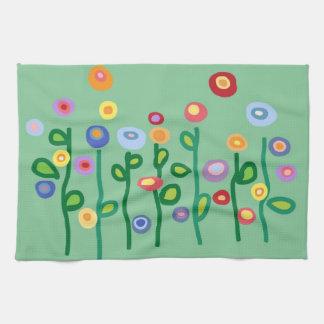 Flores de la primavera toallas