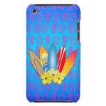 Flores de la tabla hawaiana y del hibisco iPod touch Case-Mate carcasa