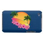 Flores de la tabla hawaiana y del hibisco iPod touch cobertura