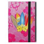Flores de la tabla hawaiana y del hibisco iPad mini cárcasas