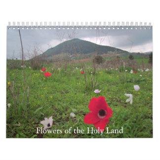 Flores de la Tierra Santa Calendario