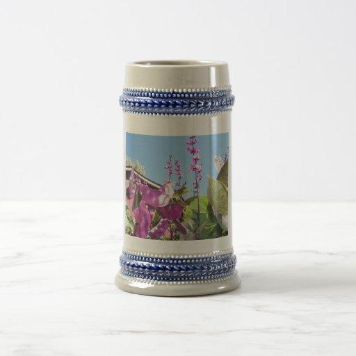 Flores de la vaina púrpura, 2 jarra de cerveza