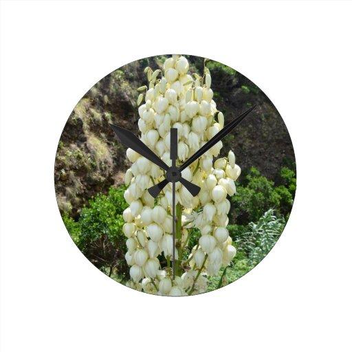 Flores de la yuca en las Azores Reloj