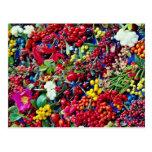Flores de las bayas del otoño tarjetas postales
