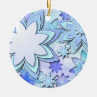 Flores de loto abstractas del ornamento ornamentos de reyes magos