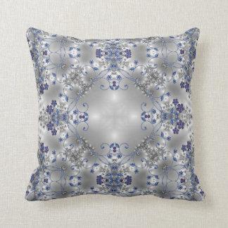 Flores de lujo + El espiral remolina almohada adap