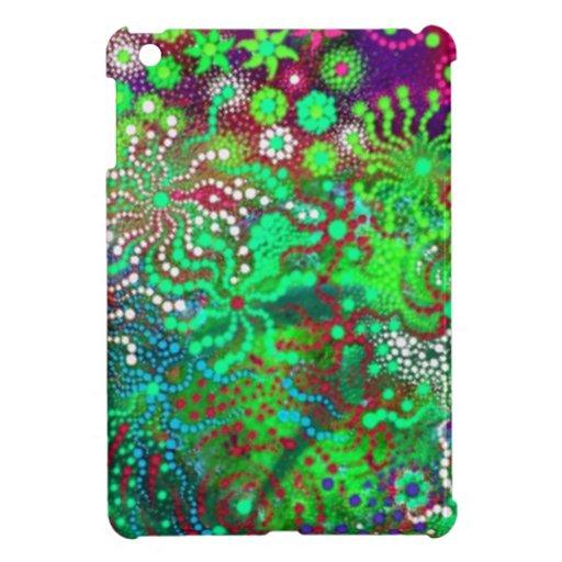 Flores de lujo iPad mini protector