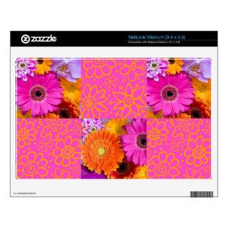 Flores de lujo netbook mediano skins