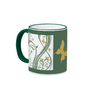 Flores de mariposas el 10% de venta taza