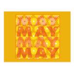 Flores de mayo postales