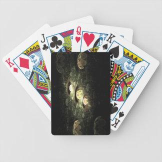 Flores de noche baraja cartas de poker