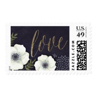 Flores de noche de verano que casan el sello