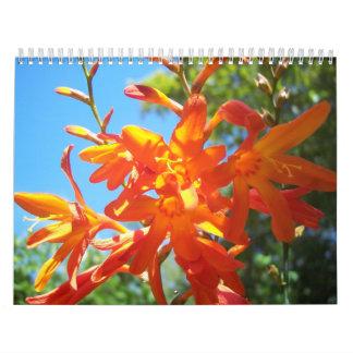 Flores de Oregon meridional y de California Calendario