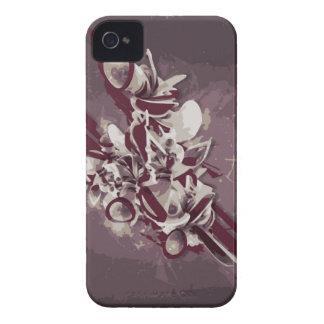 Flores de Pandora iPhone 4 Carcasas