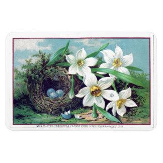 Flores de Pascua del vintage Iman