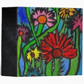 """Flores de pintura a través de ojos autísticos carpeta 2"""""""