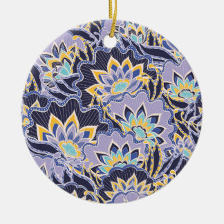 Flores de punta de la lila ligera ornamento de reyes magos