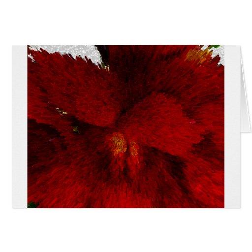 Flores de RedVelvet Tarjeta De Felicitación